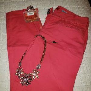 Cartonnier Charlie Ankle Pink Pants